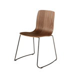 Two colored modern chairs - Stackable | Albaplus Otis v. 5